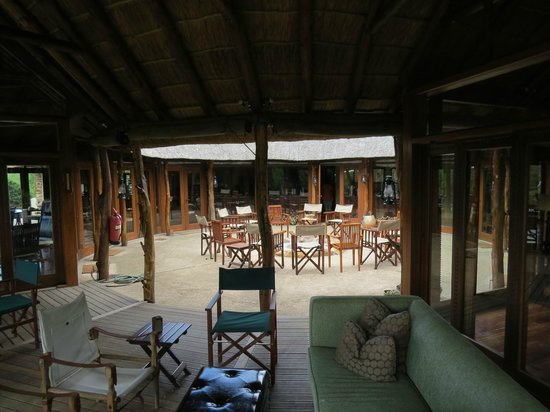 Pumba Private Game Reserve : Central fire
