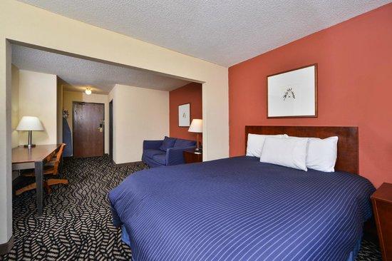 Americas Best Value Inn Morton/Peoria: Queen Bedroom