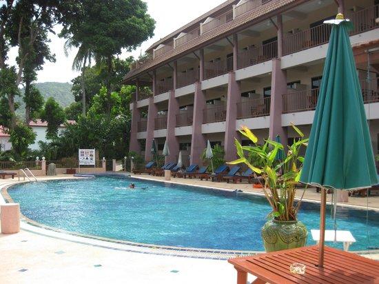Chanalai Garden Resort: Den lille pool