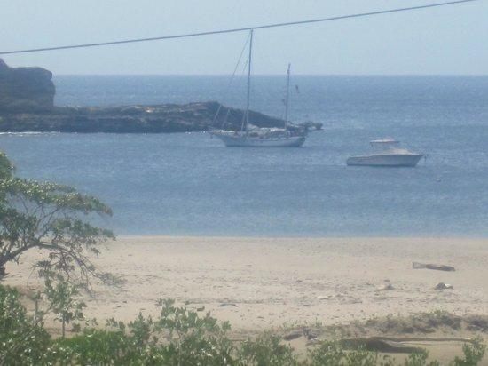 Hostal Villa Mar: Vista a la playa