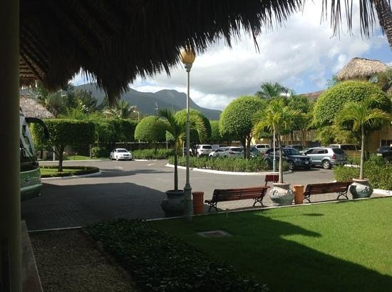 Iberostar Costa Dorada: the view as you arrive