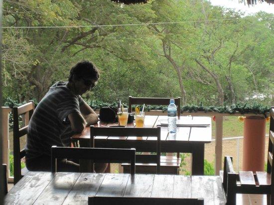 Hostal Villa Mar: Area de restaurante