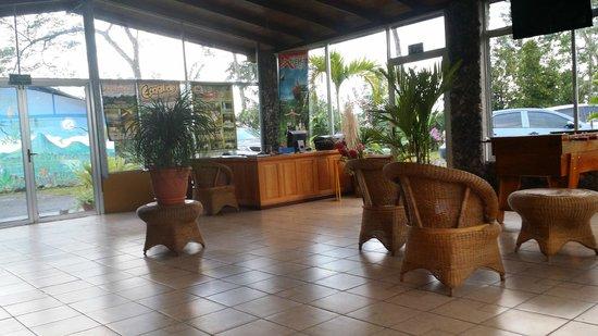 Hotel Castillo del Arenal: Reception area