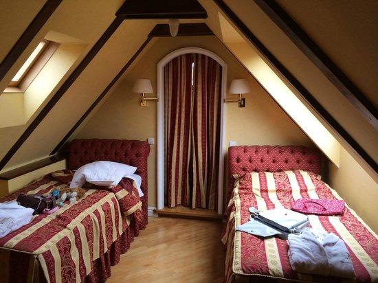 Alchymist Grand Hotel & Spa: Спальня на 2ом этаже
