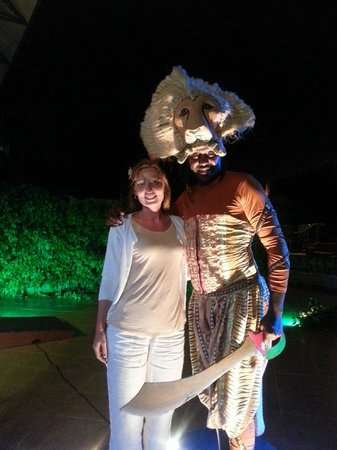 Baobab Holiday Resort: The Lion King