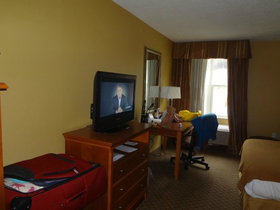 Holiday Inn Express Hurricane Mills (Waverly): just your average holiday inn