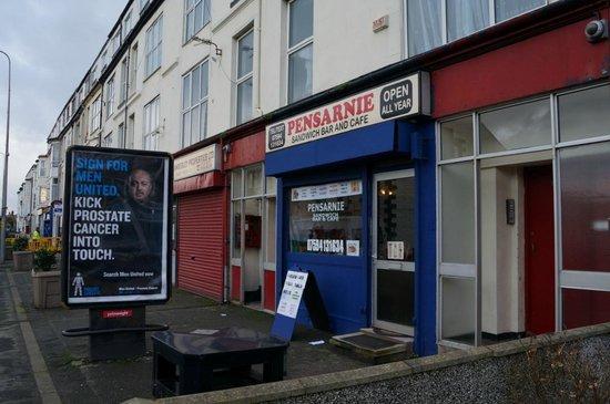 Pensarnie Sandwich Bar & Cafe: Pensarnie Cafe