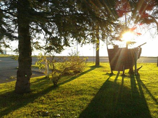 Le Martin Pecheur : Berteau au levé de soleil