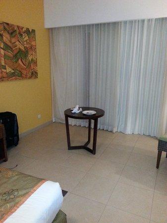 Now Larimar Punta Cana : Just a table ... no comfy furniture