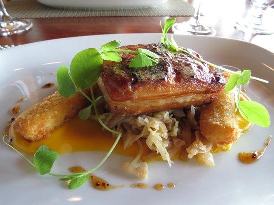 Old Vines Restaurant : Pork belly roast
