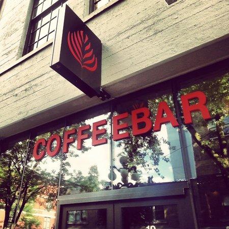 The CoffeeBar: Signage