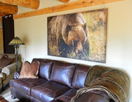 The Silver Lake Lodge : Media Room, Perfect place to watch a movie