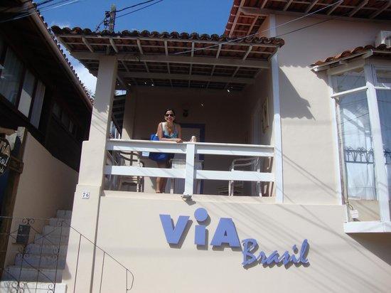 Pousada Via Brasil: Entrada da Pousada