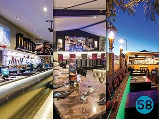 Hangar58: From mezzanine dining to the largest outdoor bar in Nelson.