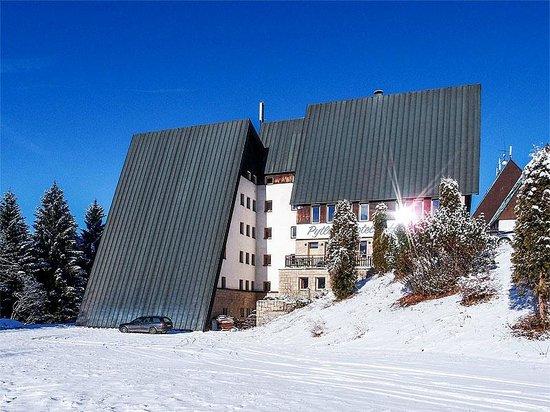 Pytloun Hotel Harrachov: Venkovní pohled