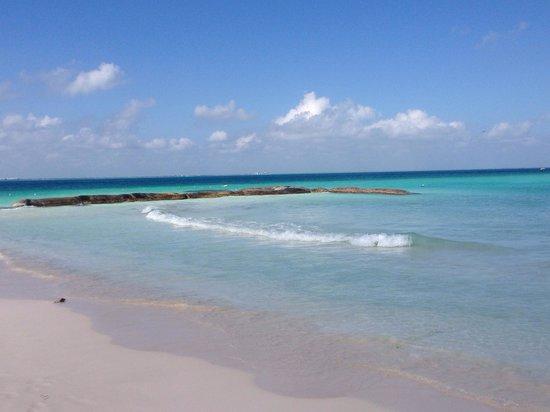 Playa Norte: Los cambios de tonalidad del tu son magníficos