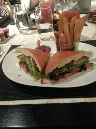 Society Cafe : BLT - outstanding!