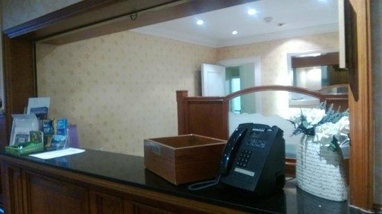 Inversnaid Hotel: Reception