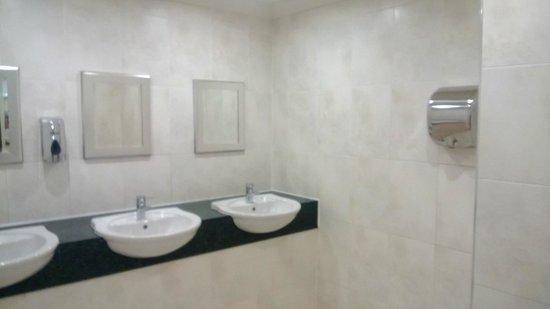 Inversnaid Hotel: Ladies toilets ground floor of hotel