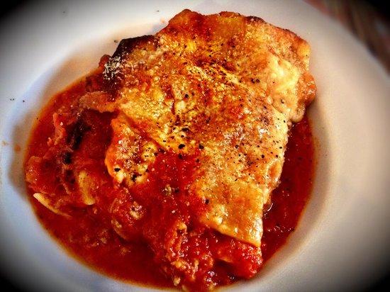 La Bottega Delitalia: Lasagne.