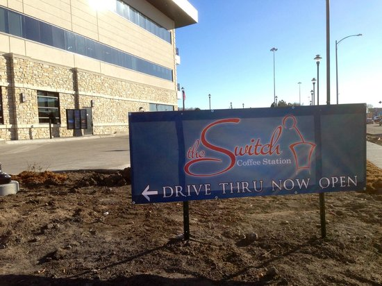 The Switch Coffee Station: Our drive through opened up