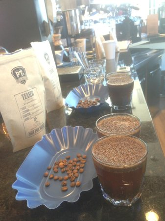 The Switch Coffee Station: Cupping some El Salvador roasts