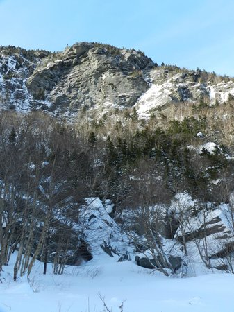 Mount Mansfield : Looking up towards Mt Mansfield from Hwy 108