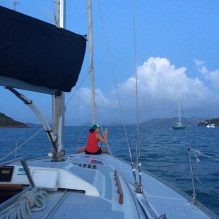 Rumbaba Charters : Setting sail at sunset...