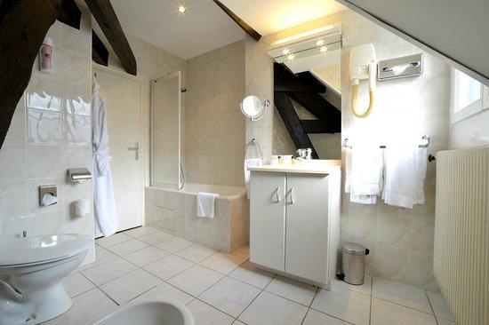 Hôtel d'Angleterre : bathroom