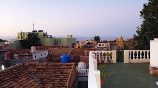 Hostal Casa Ma Dolores: roof top terrace 2