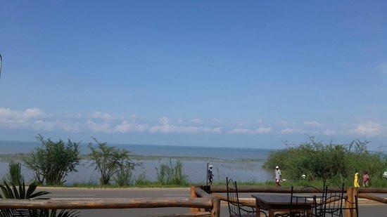 Hotel Residence Ubuntu : View of the lake