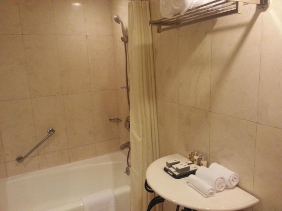 The Heritage Hotel Manila : shower area so nice