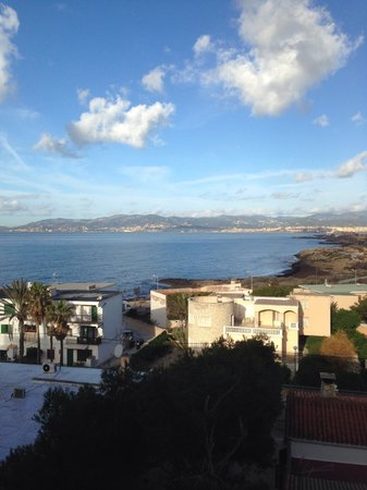 AluaSoul Palma: The view from our room about 9am.