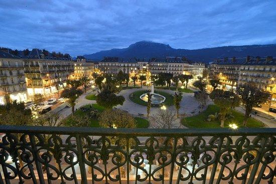 Hôtel d'Angleterre : Vue d'un balcon de l'hotel