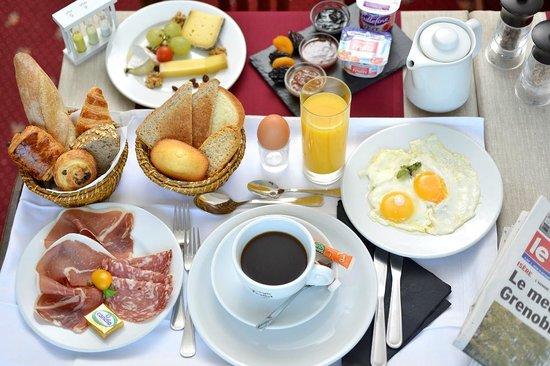 Hôtel d'Angleterre : Petit déjeuner