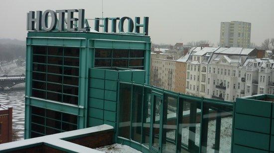 Ameron Hotel ABION Spreebogen Berlin: View from the room