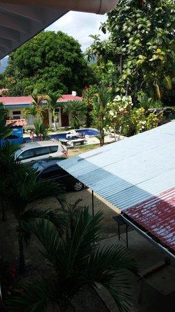 Bahia Azul Hotel: Aussicht auf den Hotelpool