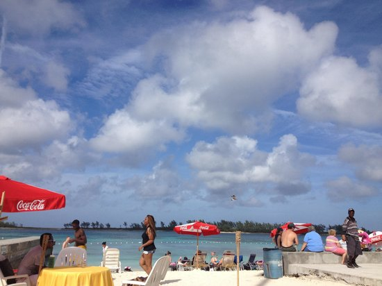Nassau, New Providence Island: View from VIP