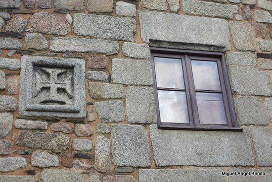 Idanha-a-Velha: Detalle de una fachada