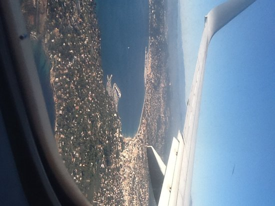 Alan Robert's Hotel: Cannes from the sky!!!