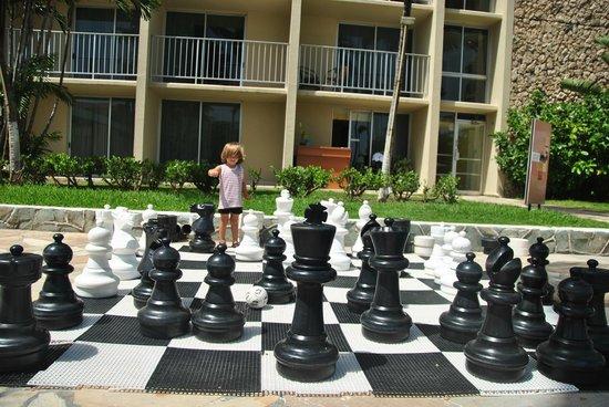 Holiday Inn Resort Aruba - Beach Resort & Casino: Ajedrez para niños