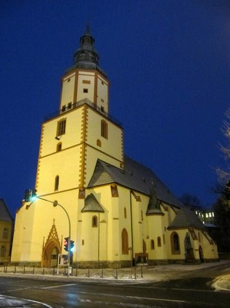 Stadtkirche St. Nicolai: Evening shot