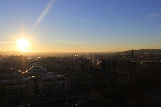 Edinburgh Castle: View from the castle