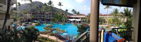 Merlin Beach Resort: View from the room