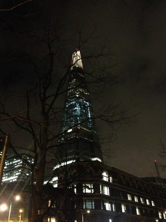 Hilton London Tower Bridge: The Shard