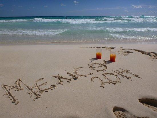Valentin Imperial Maya : la plage