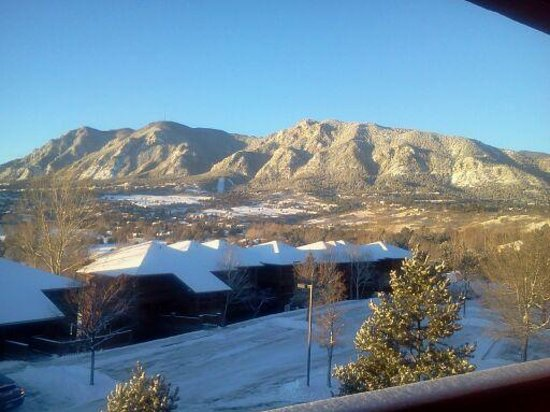 Cheyenne Mountain Resort: View from our balcony