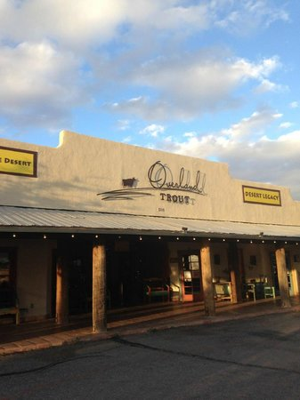 Overland Trout: Front of the restaurant