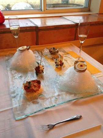 Overland Trout: Oysters 3 ways