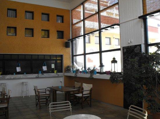 Mare Vista Hotel - Epaminondas: Aufenthaltsraum